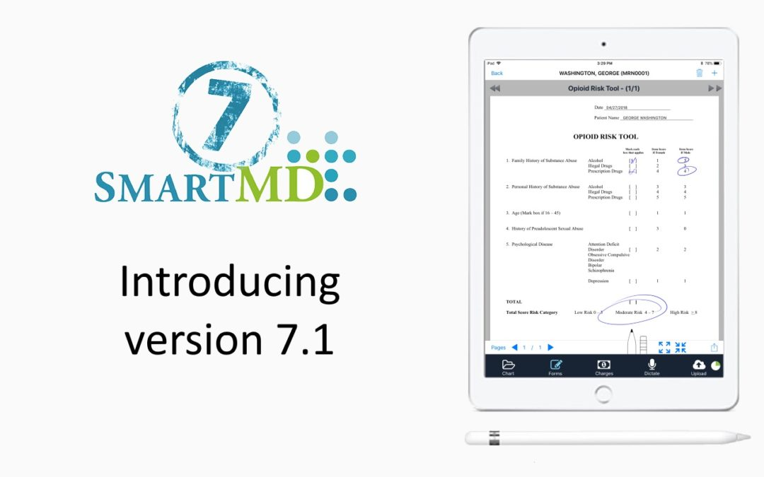 SMARTMD 7.1 – for iPhone, iPad, and Desktops