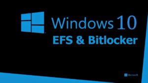 Enabling Microsoft EFS